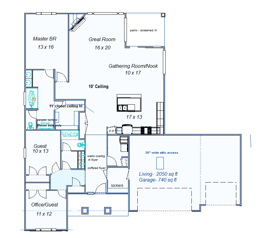 Foster Signature Homes Floor Plans