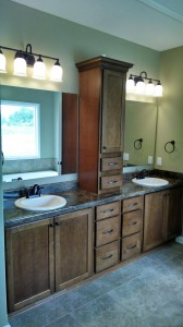 masterbath center vanity storage